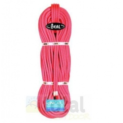 Beal Stinger III 9,4 mm unicore dry cover 70m salmon