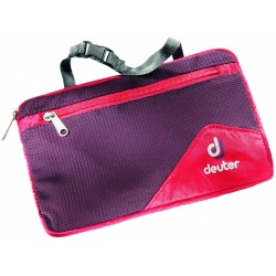 Deuter Wash Bag Lite II fire / aubergine