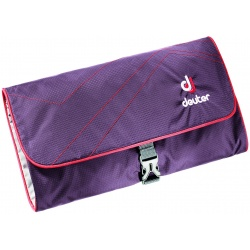 Deuter Wash Bag II aubergine / fire