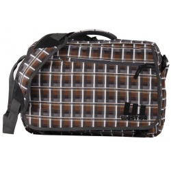 Westige Snow Laptop Bag brown / grey
