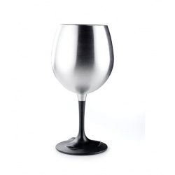 GSI Outdoor Glacier Stainless Nesting Red Wine Glass