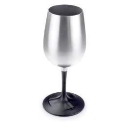 GSI Outdoor Glacier Stainless Nesting Wine Glass