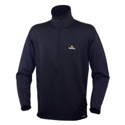 Warmpeace pulover Fram - Powerstretch L black