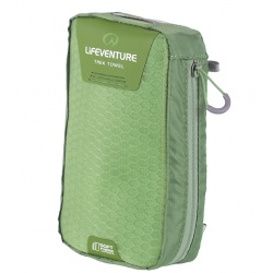 Lifeventure SoftFibre Trek Towels - large green