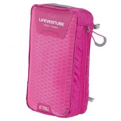 Lifeventure SoftFibre Trek Towels - large pink