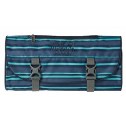Jack Wolfskin Grand Saloon Washbag blue woven stripes