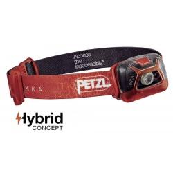 Petzl Tikka hybrid červená