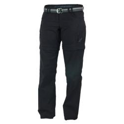 Warmpeace Rivera zip-off lady - short L black