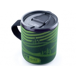 GSI Outdoors Infinity Backpacker Mug green