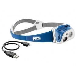 PETZL Tikka R+ modrá
