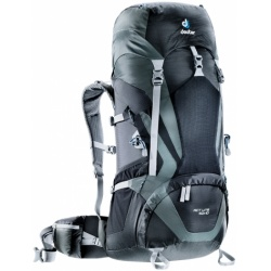 Deuter ACT Lite 50 + 10 l black / granite
