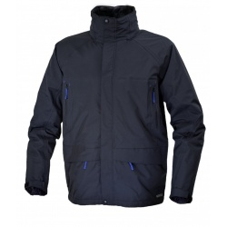 Warmpeace Keswick 3in1 L black / deep ultramarine