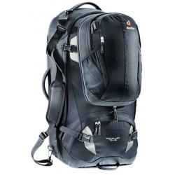 Deuter Traveller 70+10 l black / silver