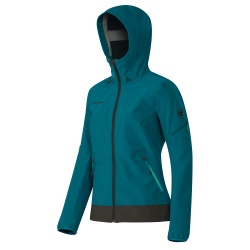 Dámská strečová bunda Mammut Runje SO Hooded Jacket Women
