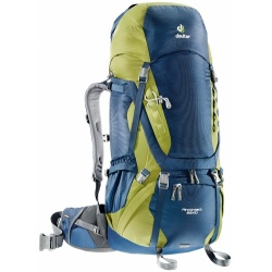 Deuter Aircontact 55+10 l midnight / moss