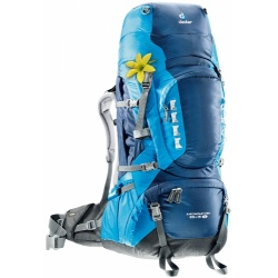 Deuter Aircontact Pro 65+15 l SL midnight / turquoise